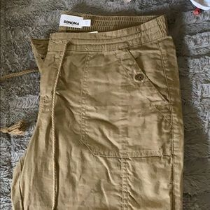 Sonoma cargo cropped pants